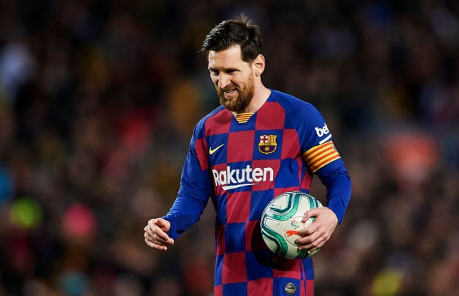 Lionel Messi has scored 627 goals in 718 appearances for Barcelona