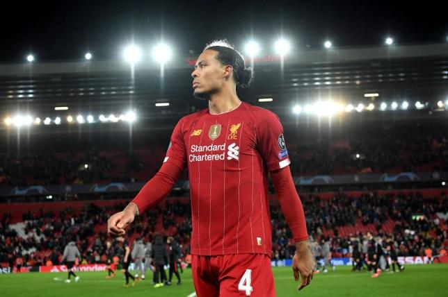 Liverpool FC defender Virgil van Dijk