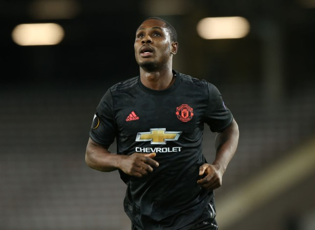 Manchester United striker Odion Ighalo