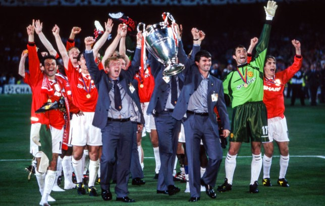Manchester United v Bayern Munchen - Final Champions League 1999