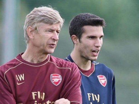 Robin van Persie reveals Arsene Wenger's 'crucial' words of advice at Arsenal