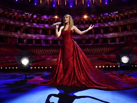 Katherine Jenkins admits historic performance in empty Royal Albert Hall for VE Day left her 'speechless'