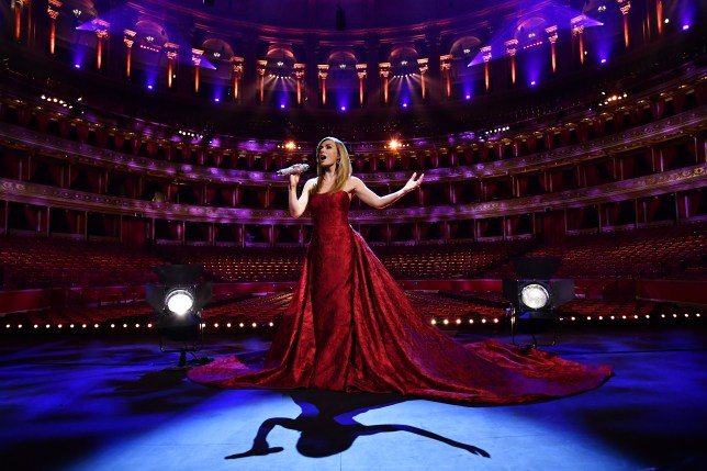 Katherine Jenkins VE Day 75 Performance At The Royal Albert Hall