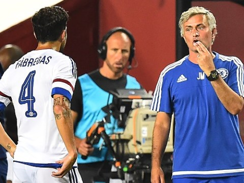 Cesc Fabregas explains how Jose Mourinho convinced him he had to join Chelsea