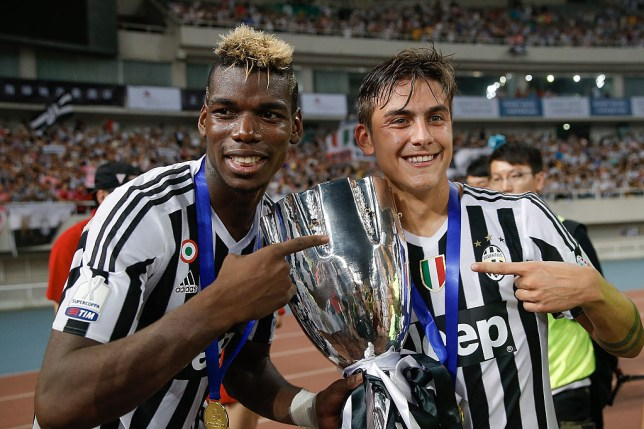 Paul Pogba and Paulo Dybala at Juventus