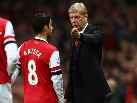 Arsene Wenger sends message to Mikel Arteta over Arsenal fears