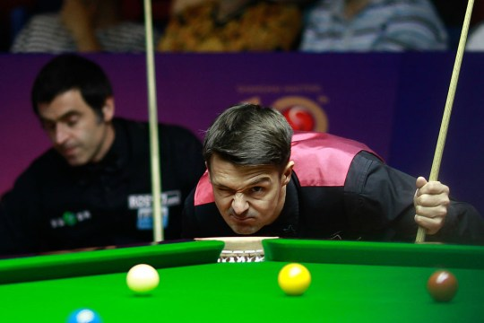 Michael Holt and Ronnie O'Sullivan