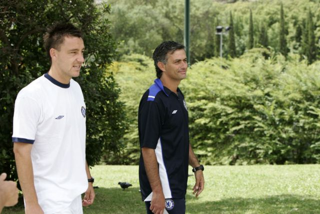 Terry and Mourinho struck up a close relationship (Picture: Getty)