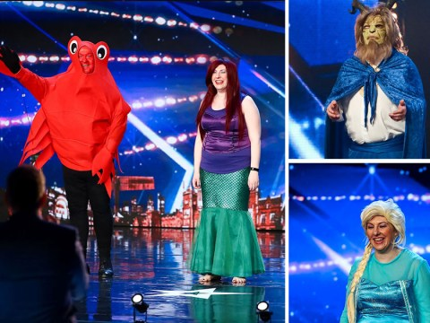 Britain's Got Talent preview: Alesha Dixon in stitches as couple return dressed as The Little Mermaid's Ariel and Sebastian