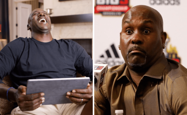 Gary Payton reacts to Michael Jordan laughing at him on The Last Dance