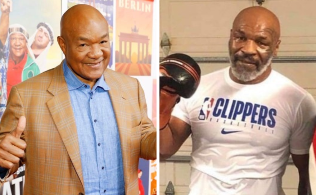 George Foreman backs Mike Tyson to be 'top heavyweight contender'
