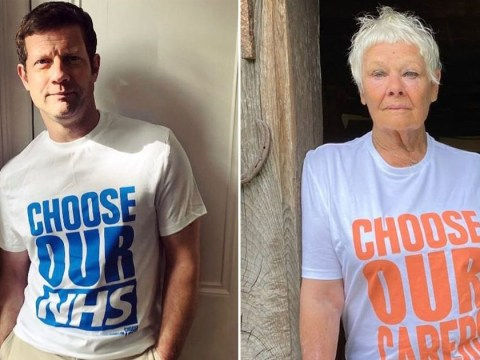 Coronavirus: Dame Judi Dench, Dermot O'Leary and Gemma Chan among celebs supporting NHS in new campaign