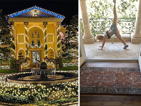 Inside Britney Spears' stunning California mansion as she self-isolates during lockdown