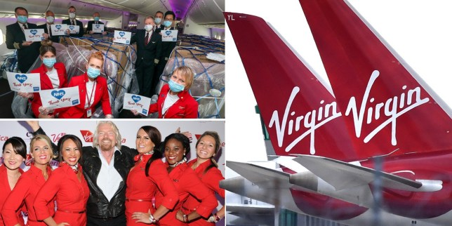 Sir Richard Branson previously warned that Virgin Atlantic would collapse unless it receives Government support