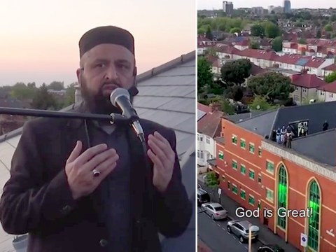 Call to prayer broadcast for first time in London borough for lockdown Ramadan