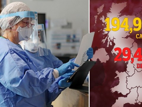 Official UK death toll rises to 29,427 after 693 more die