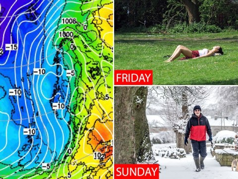 Blast of Arctic weather could bring -5°C to parts of Britain for May bank holiday