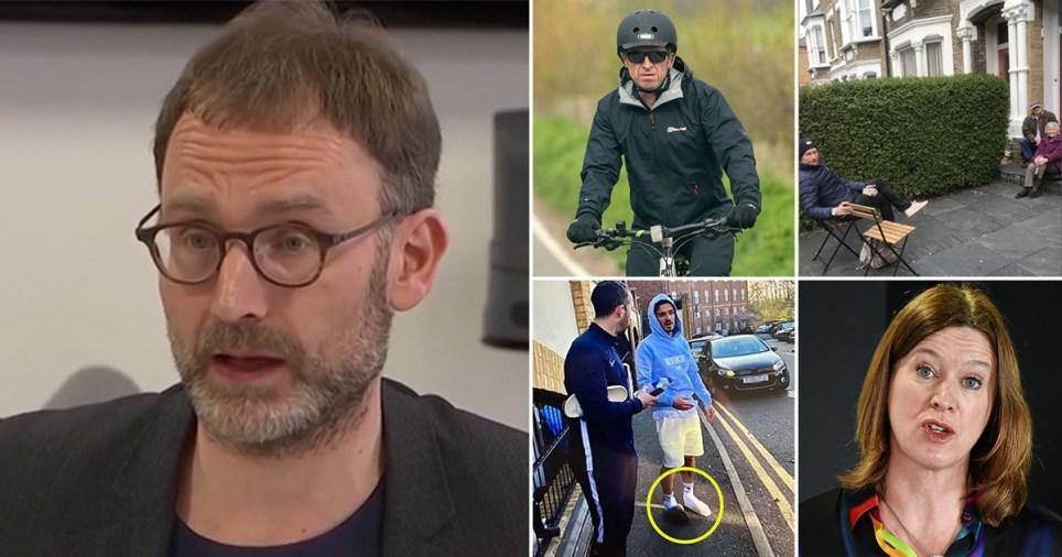 High profile people including Neil Ferguson who have broken lockdown rules