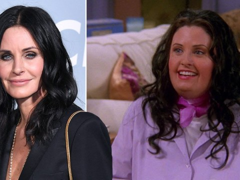 Friends star Courteney Cox loved playing overweight Monica: 'I felt free'