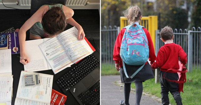 Primary school pupils are set to go back to school first