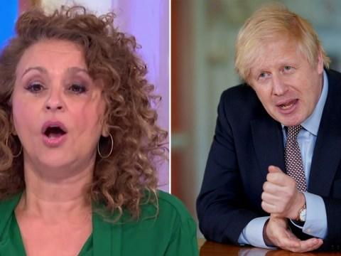 Nadia Sawalha launches 'furious' rant at Boris Johnson's lockdown plan on Loose Women