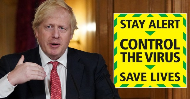 Boris Johnson defends stay alert message and insists the UK must continue to stay at home.