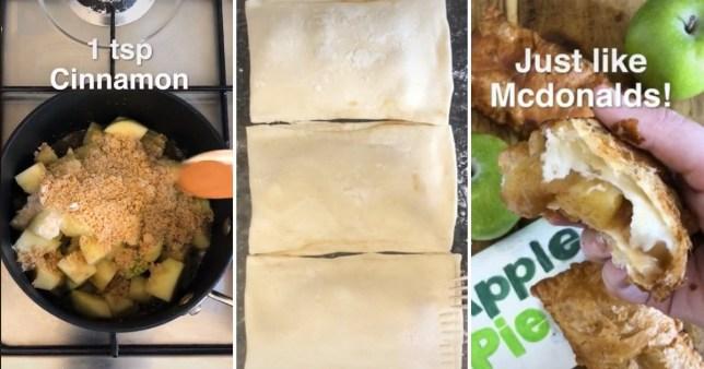 McDonald's apple pie video