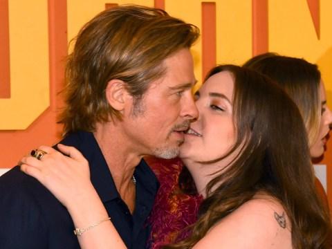 Lena Dunham sets the record straight about that 'awkward' Brad Pitt kiss