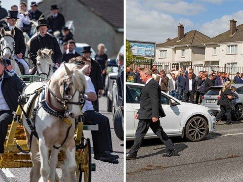 Huge crowds defy lockdown to attend funeral of teenage brothers in Ireland