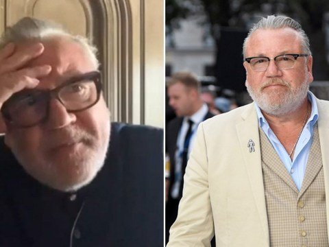 Ray Winstone is stuck in Italy without his family after being stranded there since lockdown started
