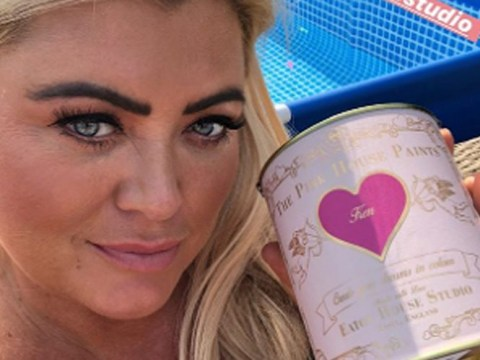 Gemma Collins reveals gruesome cut on finger after attempting to sand down garden bench: 'I've got an emergency'