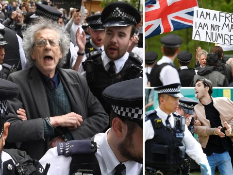 Jeremy Corbyn's brother arrested at Hyde Park anti-lockdown protest