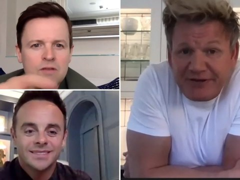 Ant and Dec team up with Gordon Ramsay to lead mental health campaign for Britain Get Talking ad