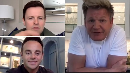 Ant and Dec team up with Gordon Ramsay and ITV family for Get Britain Talking