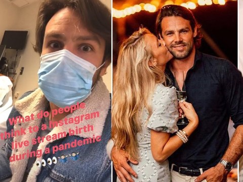 Ben Foden shares live updates of wife Jackie Belanoff Smith as she goes into labour and she's not happy