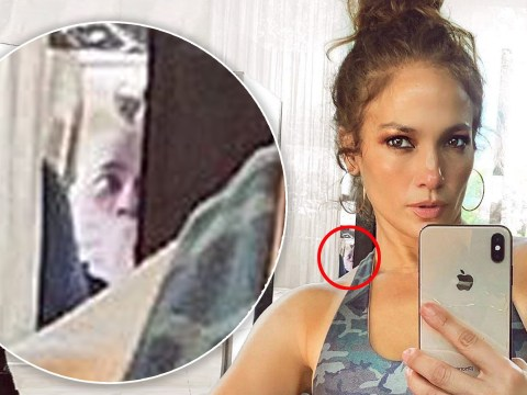 Who is lurking in Jennifer Lopez's selfie? Fans freak as they see 'man with hand over his mouth' in background
