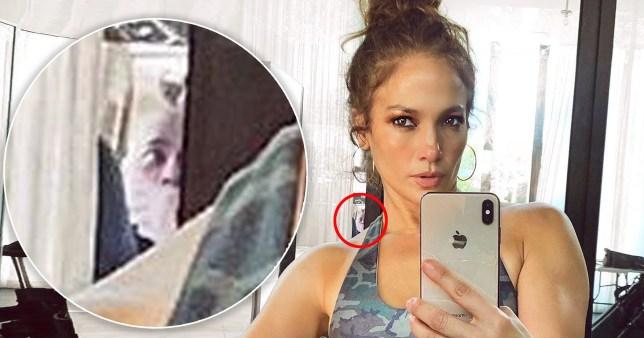 Jennifer Lopez Instagram selfie