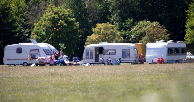 Travellers on nature reserve can't be evicted because of coronavirus guidelines