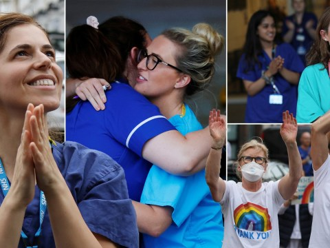 Britain pays tribute to dedicated frontline workers in ninth Clap for Carers