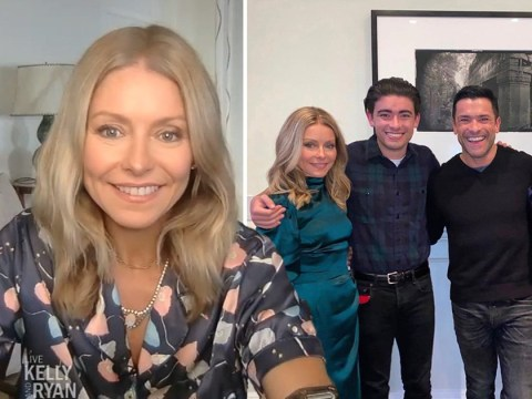 Kelly Ripa has 'secretly been quarantining in the Caribbean' with her family this whole time