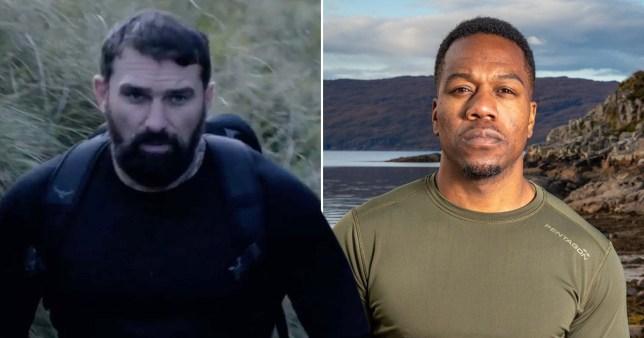 Locksmith and Ant Middleton on SAS: Who Dares Wins