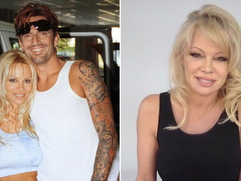 Pamela Anderson insists she didn't make sex tape with Tommy Lee as she teases 'naked vacations'