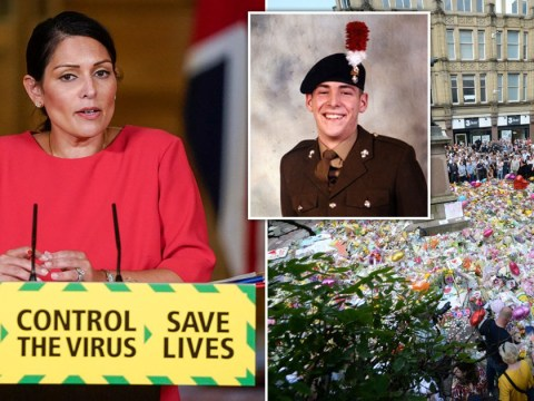 Priti Patel pays tribute to Lee Rigby and Manchester Arena victims