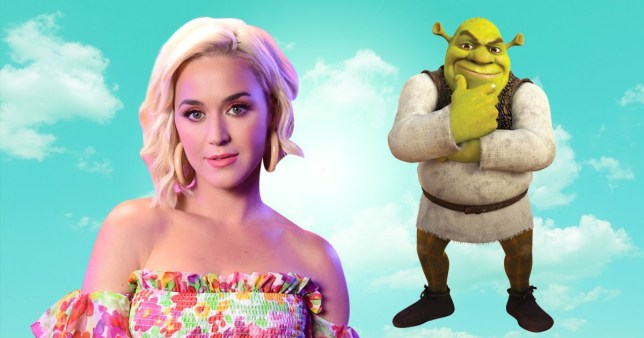Katy Perry and Shrek