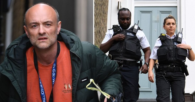 Police show up on Dominic Cummings' doorstep amid allegations he repeatedly broke lockdown rules.