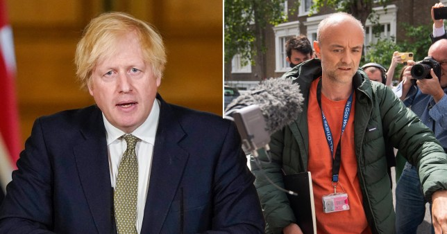 Boris Johnson said Dominic Cummings was right to travel to Durham as he defended his top aide amid allegations he broke lockdown rules.