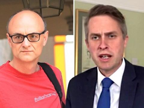 Gavin Williamson claims Dominic Cummings broke no law or lockdown rule