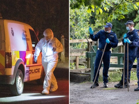 Man, 48, arrested for murder after woman's body found in country park