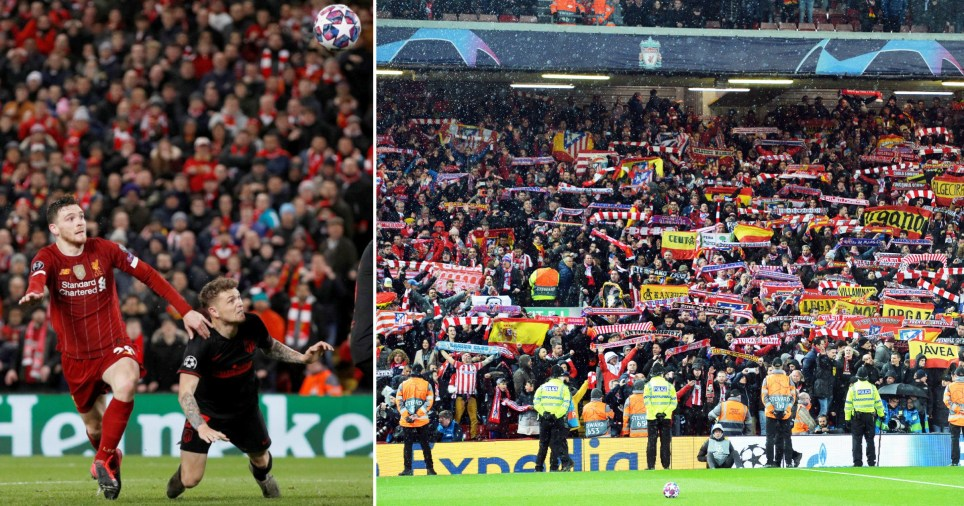 Liverpool FC v Atletico Madrid on March 11 led to 'increased death' scientist says