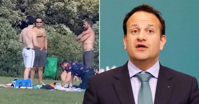 Leo Varadkar nie avoir enfreint les règles lors d'un pique-nique aux seins nus avec des amis